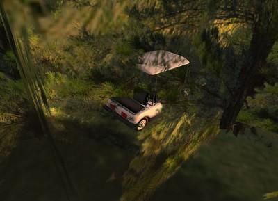 abandoned_golf_cart