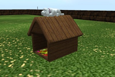 One Prim Dog House