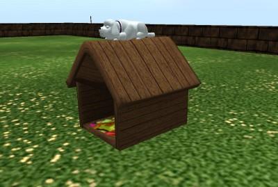 One Prim Dog House